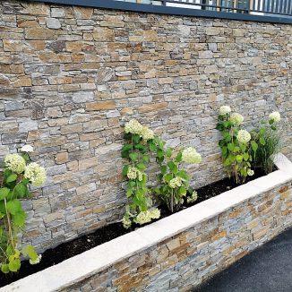 Steinmauer Blumentrog Kogler Verbundsteine